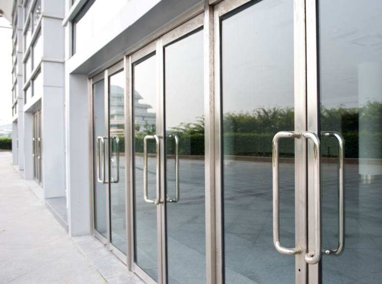 images of commercial glass door handle parts images